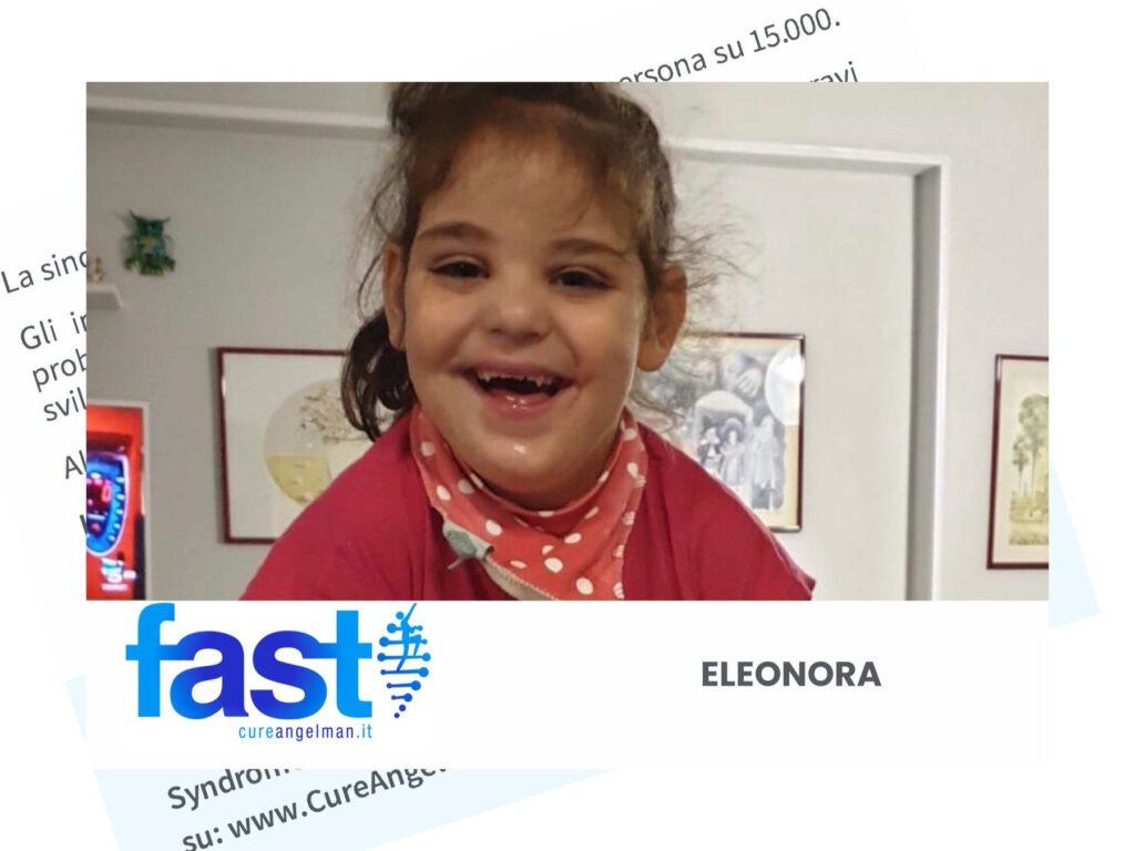 FAST Italia - Fondazione Sindrome di Angelman - CARD Eleonora